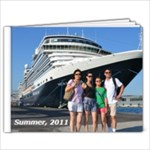 2011 Europe Cruise - 9x7 Photo Book (20 pages)