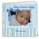Rhys Euell Aljay Christening - 8x8 Deluxe Photo Book (20 pages)