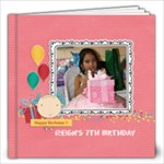 12x12 (20 pages): Happy Birthday - Girl - 12x12 Photo Book (20 pages)