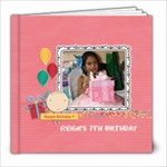 8x8 (30 pages): Happy Birthday - Girl - 8x8 Photo Book (30 pages)