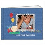 11 x 8.5 (20 pages): Happy Birthday - Boy - 11 x 8.5 Photo Book(20 pages)