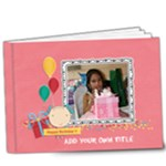 9x7 DELUXE: Happy Birthday - Girl - 9x7 Deluxe Photo Book (20 pages)