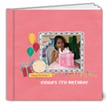 8x8 DELUXE: Happy Birthday - Girl - 8x8 Deluxe Photo Book (20 pages)