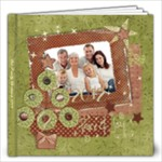 Shabby Christmas 12x12 Album - 12x12 Photo Book (20 pages)