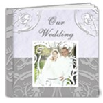 Wedding 8X8 delux TEMPLATE - 8x8 Deluxe Photo Book (20 pages)