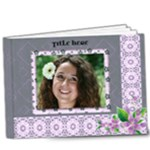 Delightful shades of Violet Deluxe 9x7 Book (20 pages) - 9x7 Deluxe Photo Book (20 pages)