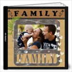 My Family Love 12x12 40 Page Photo Book - 12x12 Photo Book (40 pages)