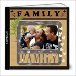 My Family Love 8x8 20 Page Photo Book - 8x8 Photo Book (20 pages)
