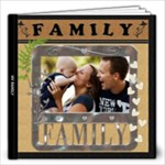 My Family Love 12x12 20 Page Photo Book - 12x12 Photo Book (20 pages)