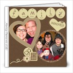family 2010 - 8x8 Photo Book (20 pages)