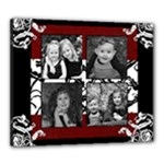 4 photo black and white - Canvas 24  x 20  (Stretched)