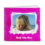 Pink Little Princess Deluxe (20 Pages) 6x6 Book - 6x6 Deluxe Photo Book (20 pages)