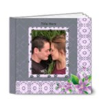 Delightful shades of Violet Deluxe 6x6 (20 page) Book - 6x6 Deluxe Photo Book (20 pages)