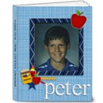 School Days - Peter - 8x10 Deluxe Photo Book (20 pages)