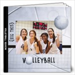 12x12 Volleyball Photo Book - 12x12 Photo Book (20 pages)