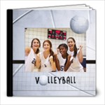 8x8 Volleyball Photo Book - 8x8 Photo Book (20 pages)