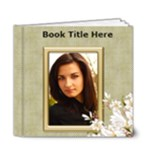 Floral Elegance Deluxe 6x6 (20 page) book - 6x6 Deluxe Photo Book (20 pages)