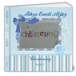 Rhys Euell Aljay Christening Book 3 - 8x8 Deluxe Photo Book (20 pages)