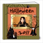 Halloween 2011 - 8x8 Photo Book (20 pages)