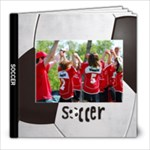 Soccer/football- 8x8 Photo Book (20 pages)
