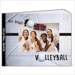 9x7 Photo Book- Volleyball - 9x7 Photo Book (20 pages)