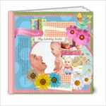 Flower kids  - 6x6 Photo Book (20 pages)