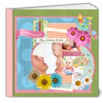 Flower kids  - 8x8 Deluxe Photo Book (20 pages)