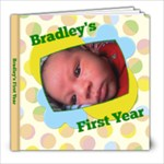 Bradley - 8x8 Photo Book (30 pages)