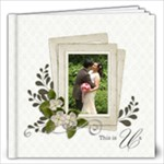 12 x12 (40 pages) : This Us- Wedding - 12x12 Photo Book (40 pages)