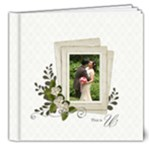 8x8 (DELUXE) : This Us- Wedding - 8x8 Deluxe Photo Book (20 pages)