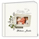8x8 DELUXE : Baptism/Christening/Dedication - 8x8 Deluxe Photo Book (20 pages)