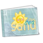 Sun Sea & Sand Deluxe 7 x 5 Seaside book - 7x5 Deluxe Photo Book (20 pages)