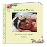 Giuliana Proofs Part 1 - 8x8 Photo Book (20 pages)