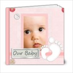 baby book 60pp - 6x6 Photo Book (20 pages)