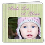 indi 1st yr - 8x8 Deluxe Photo Book (20 pages)
