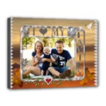 I Love My Family 16x12 Stretched Canvas - Canvas 16  x 12  (Stretched)