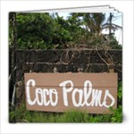Coco Palms - 8x8 Photo Book (20 pages)