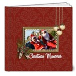 8x8 (DELUXE): Christmas Memories - 8x8 Deluxe Photo Book (20 pages)