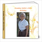 GRANDMA NINFA - 8x8 Photo Book (20 pages)