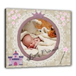 Little Princess 24x20 Stretched Canvas - Canvas 24  x 20  (Stretched)