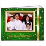 Elegant Christmas landscape Picture Book 9x7 (20 Pages) - 9x7 Photo Book (20 pages)
