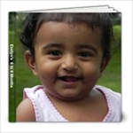 Evelyn 6-9 months - 8x8 Photo Book (20 pages)