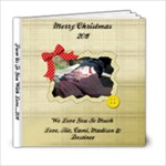 CHRISTMAS 2011 - 6x6 Photo Book (20 pages)