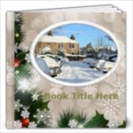 Winter Snowflake 12x12 book (30 pages) - 12x12 Photo Book (20 pages)