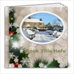 Winter Snowflake 8x8 book (20 pages) - 8x8 Photo Book (20 pages)