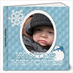 Winter Memories 12x12 60 Page Photo Book - 12x12 Photo Book (20 pages)