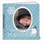 Winter Memories 8x8 60 Page Photo Book - 8x8 Photo Book (60 pages)