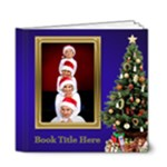 O Christmas Tree Deluxe 6x6 Book (20 Pages) - 6x6 Deluxe Photo Book (20 pages)