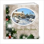 Winter Snowflake 6x6 book (20 pages) - 6x6 Photo Book (20 pages)