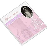Pink Vintage Love mirror frame small memo pad - Small Memo Pads